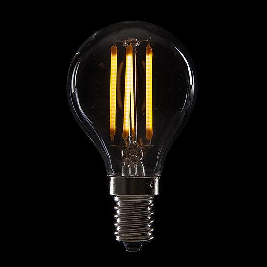 Ampoule LED 'Moyenneville' Filament Vintage G45 4W E14 400Lm