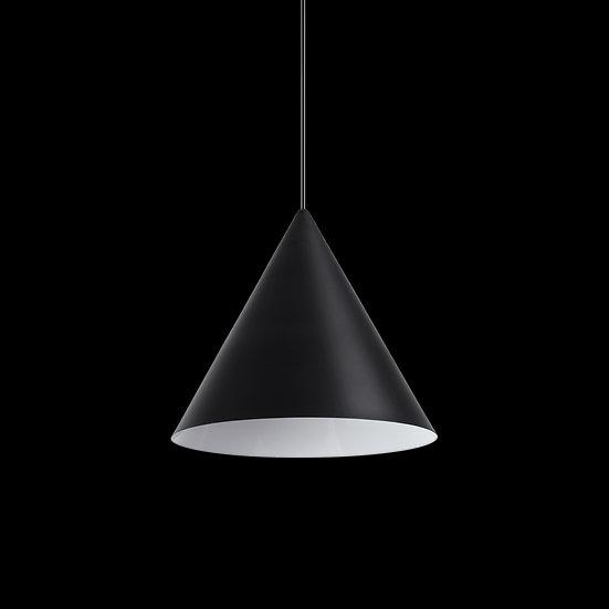 Suspension LED 'Bézouotte'Noir 1 x E27