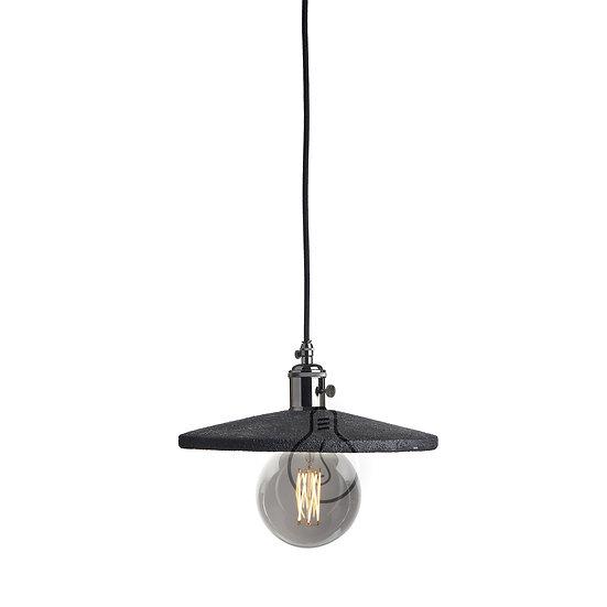 Suspension LED E27 'Lacommande' Rochey Papier RosaceCâble