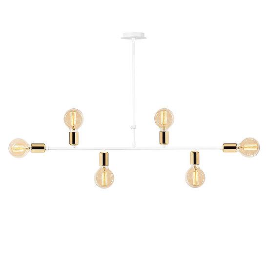 Suspension LED 'Halsou 04'Blanc 1 x E27