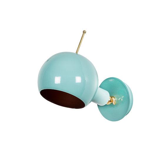 Applique Murale LED 'Alette 04' Turquoise 1 xE27