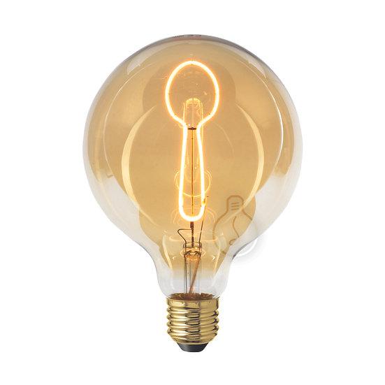 Ampoule LED E27 'Lerzy' ambré Dimmable