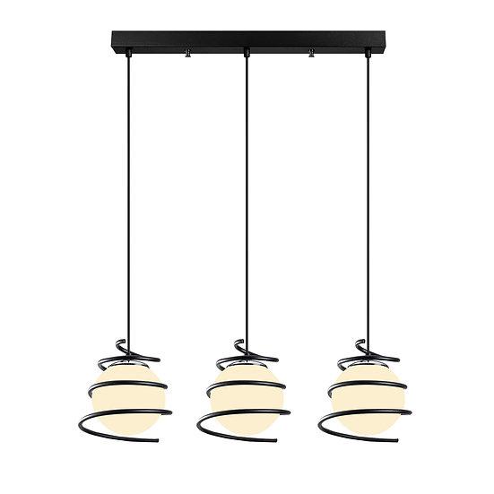Suspension LED 'Cuqueron 02'Noir 3 x E27