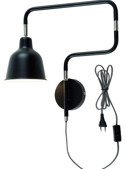 Applique LED 'L'étaux' 'Mainneville's-la-Forêt' 44x40cm/Abat Jour Ø16x16cm