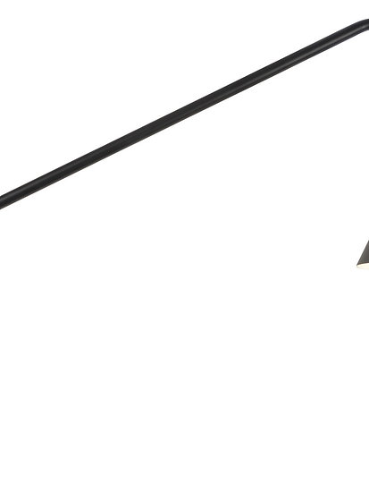 Applique LED 'L'étaux' 'Mainneville' 70x28cm/Abat Jour Ø16x17cm