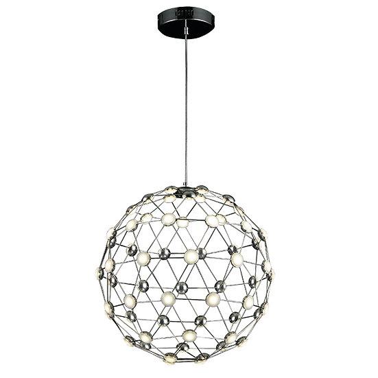 Suspension LED 'Gragnague' Chromé 30W 2125Lm 3000K