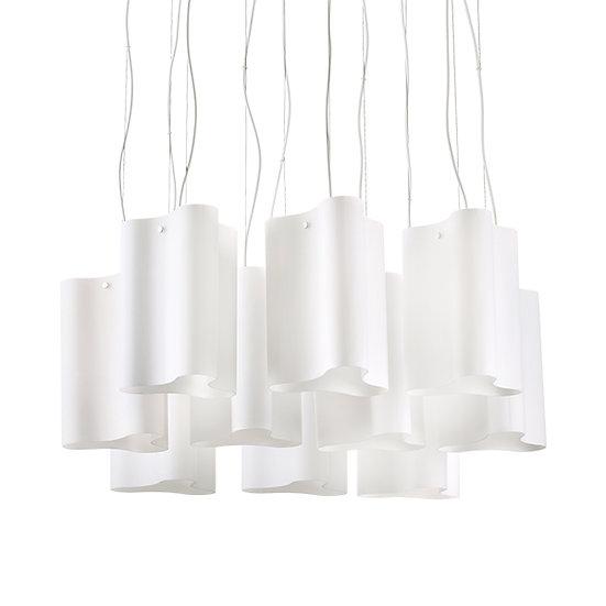 Suspension LED 'COMPO' 10 xE27 Ampoules Non Fourni