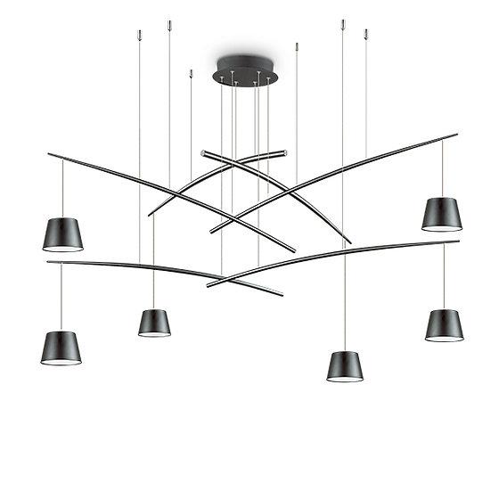 Suspension LED 'FISH' 6 Ampoules 37W