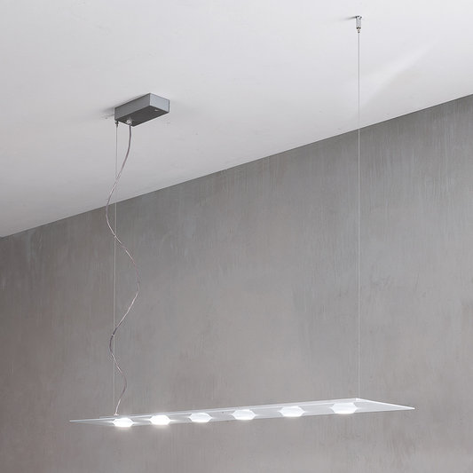 Suspension LED 'Clamerey' Dimmable 38.7W 4620Lm IP20 3000k Blanc Neutre