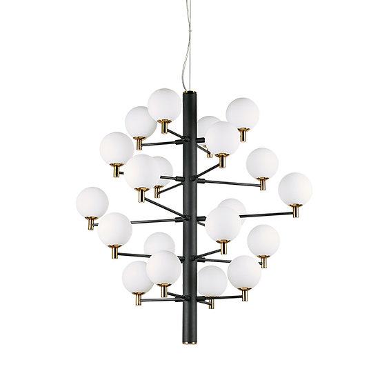 Suspension LED 'COPERNICO' 20 xG9  Ampoules Fourni