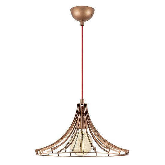 Suspension LED 'Castelmaurou' Cuivre 1 x E27