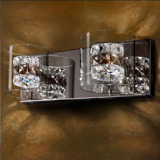 Applique LED 'Saint-Germain-de-Tournebut' 2x G9 Avec Ampoule Blanc Chaud