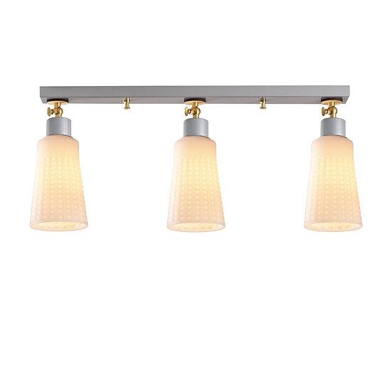Suspension LED 'Ger'Argent 3 x E27