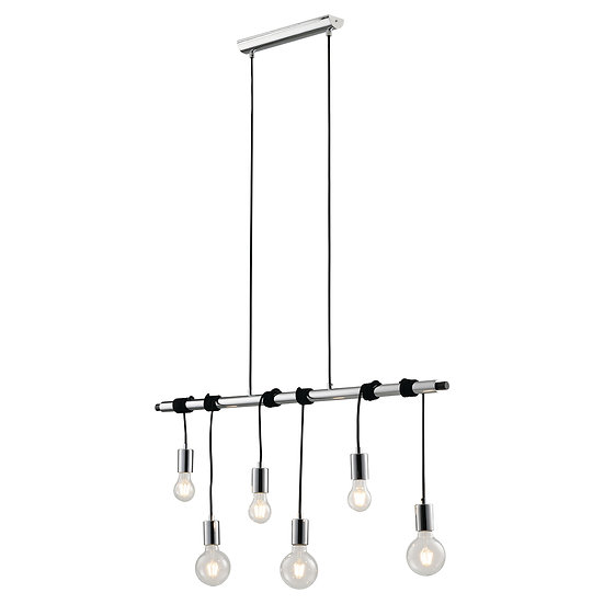 Suspension LED 'Bourlon' 6x E27