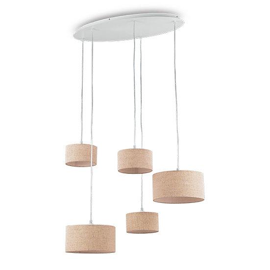 Suspension LED 'EKOS' 5 xG9 Ampoules Fourni
