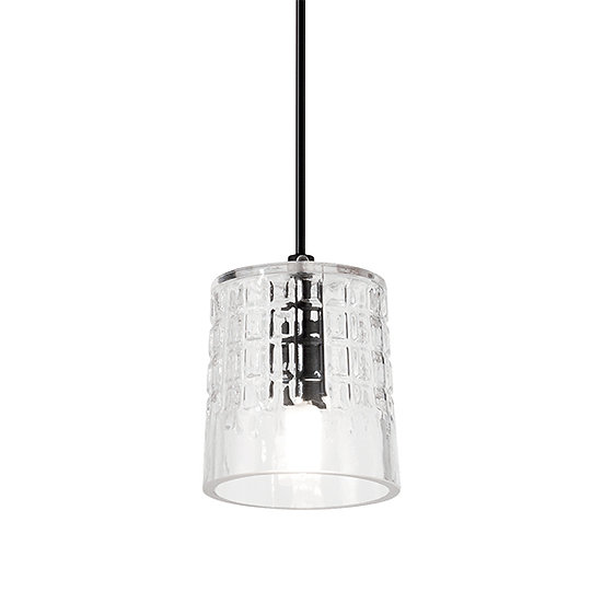 Suspension LED 'COGNAC' 1 xG9 Ampoules Non Fourni