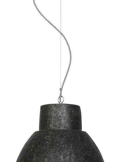 Suspension LED 'Harcanville' Les Copeaux De Bois/Rond Ø43x37cm