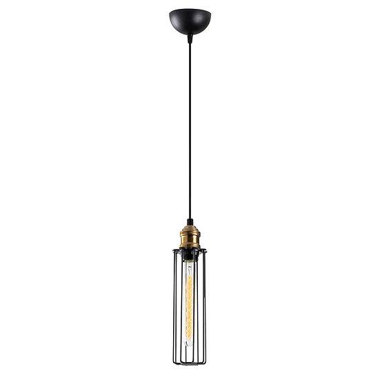 Suspension LED 'Crouseilles 01'Noir 1 x E27