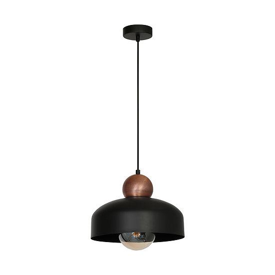 Suspension LED 'Crouttes' 1 xE27 Métal Sans Ampoule