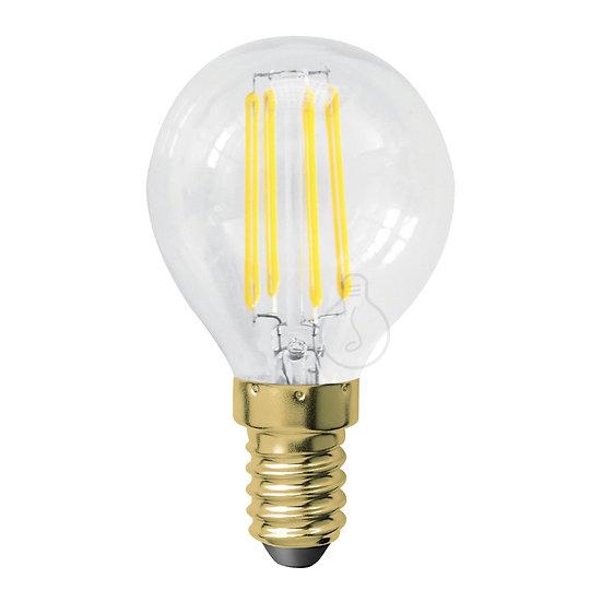 Ampoule LED E14 'Houry' Transparent - Blanc Chaud