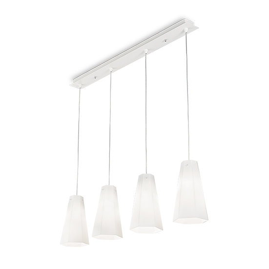 Suspension LED 'CAIRO' 4 xE27 Ampoules Non Fourni