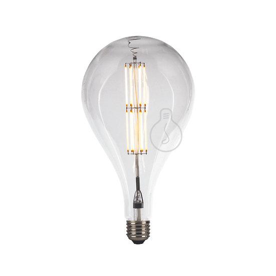 Ampoule LED E27 'Haramont' Transparent Blanc Chaud Dimmable