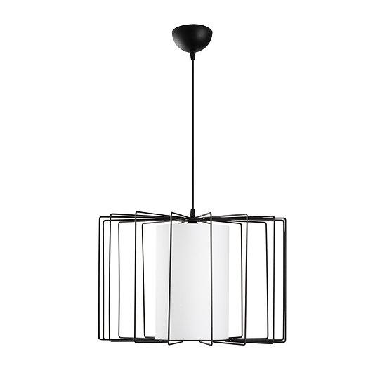 Suspension LED 'Hectomare03' Noir/Blanc Neutre 1 x E27