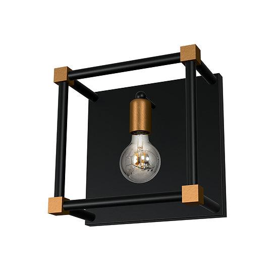 Applique Murale LED 'Ciral' 1 xE27 Métal Sans Ampoule