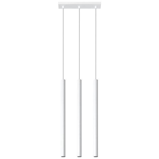 Suspension LED 'Champs' Blanc IP20Câble AjusTable 3x G9 Sans Ampoule