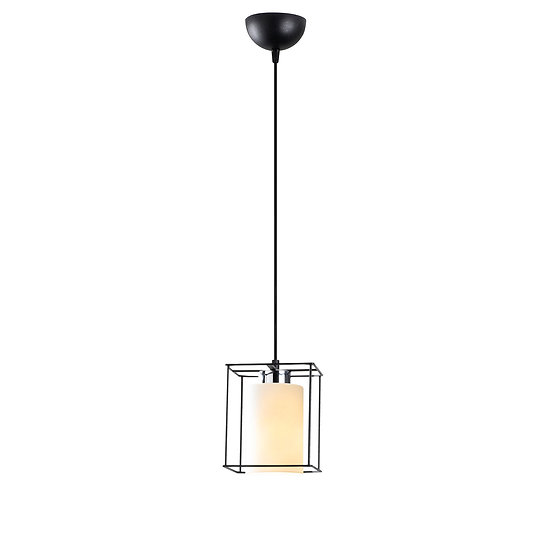 Suspension LED 'Coublucq 01'Noir 1 x E27