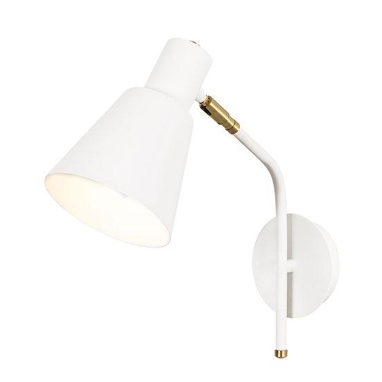 Applique Murale LED 'Alette 08'Blanc/Rouge 1 xE27