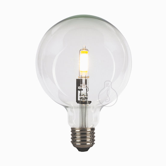 Ampoule LED E27 'Grandrieux' Transparent Blanc Chaud Dimmable