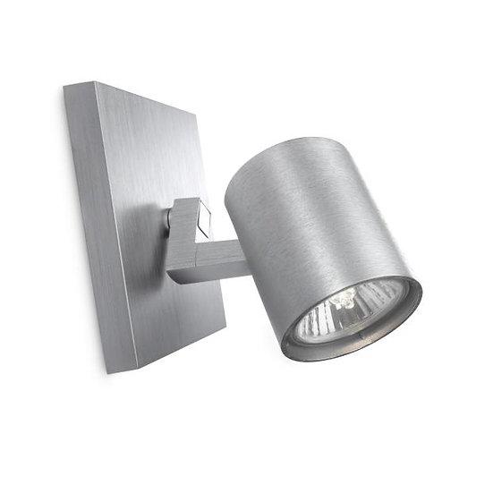 Applique Murale LED 'Ancey' Aluminium 1 x GU10 Sans Ampoule