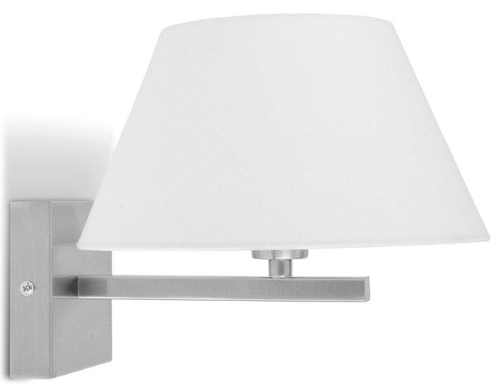 Applique LED 'L'étaux' 'Longchamps' /Abat Jour 13x13x23cm