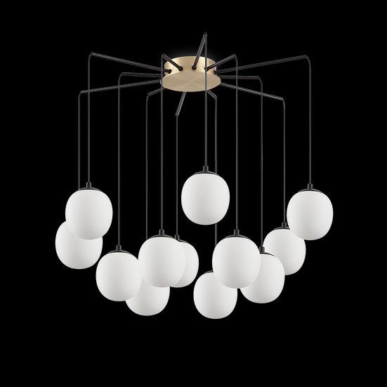 Suspension LED 'Bouilland' 12x G9 Avec Ampoule