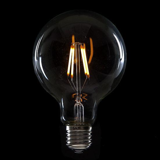 Ampoule LED 'Nesle' Filament Vintage G95 4W xE27 400Lm