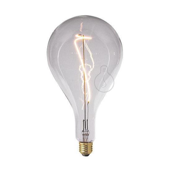 Ampoule LED E27 'Franqueville' Transparent Blanc Chaud - Dimmable