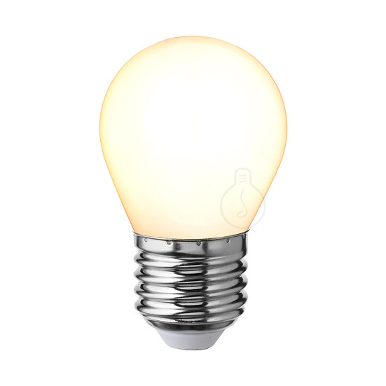 Ampoule LED E27 'Chavignon'Opaque