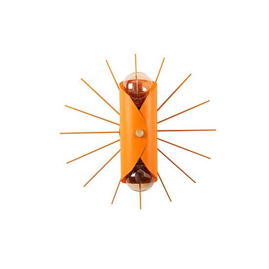 Applique Murale LED 'Alette B 05'Orange 1 xE27