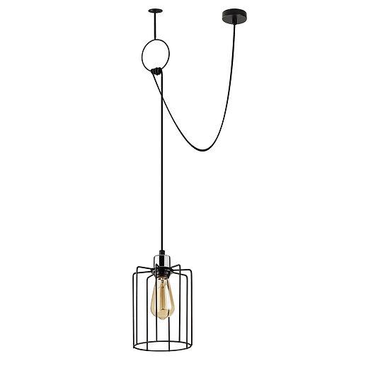 Suspension LED 'Hectomare'05 Noir 1 x E27