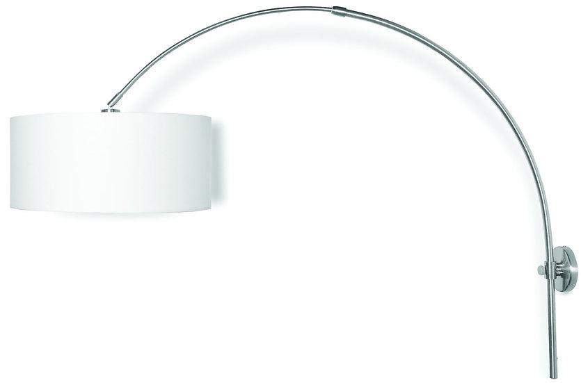 Applique LED 'L'étaux' 'Livet-sur-Authou' Largeur 120cm Nickel