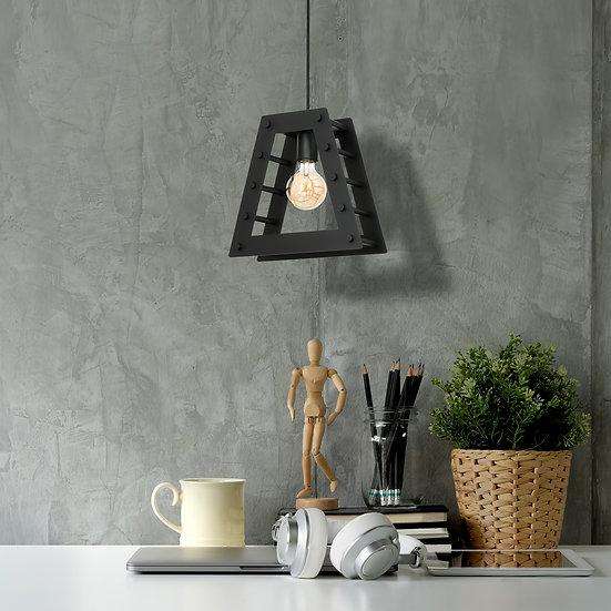 Suspension LED 'Buré' 1 xE27 Métal Sans Ampoule