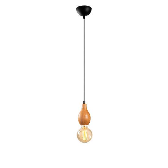 Suspension LED 'Estevelles' 854'Noir 1 xE27