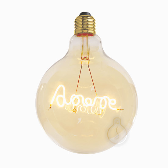 Ampoule LED E27 'Gronard' ambré Dimmable