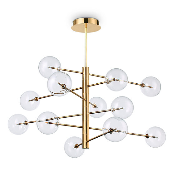 Suspension LED 'EQUINOE' 12 xG4 Ampoules Fourni