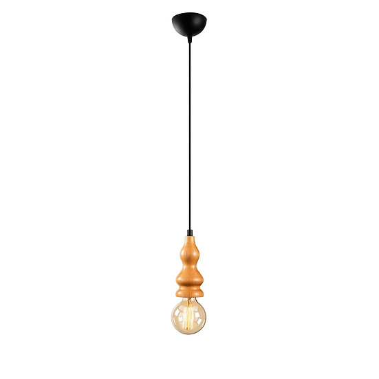 Suspension LED 'Estevelles' 857' Noir 1 xE27