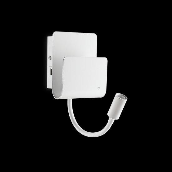 Applique Murale LED 'Flammerans'Blanc 9W 580Lm 3000k