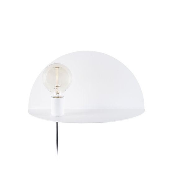 Applique Murale LED 'Auchel 519'Blanc 1 xE27