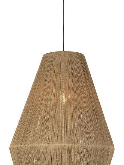 Suspension LED 'Grugny' Jute Ø40x47cm