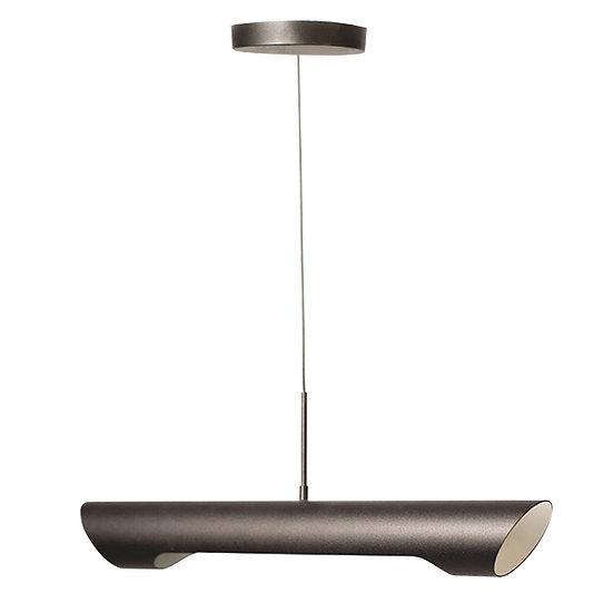 Suspension LED 'Fontenilles'Noir/Blanc 7W 650Lm 3000K